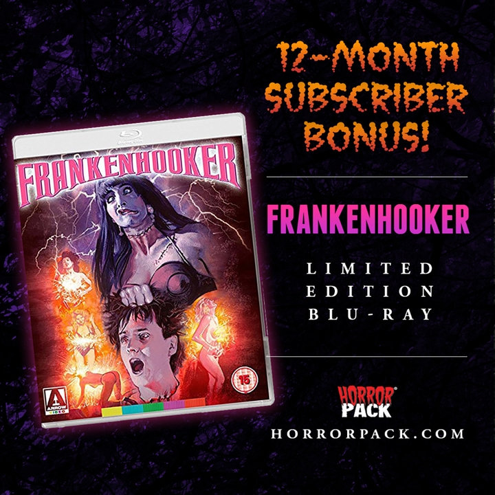 HorrorPack March 2020 Horror Movie Subscription Box