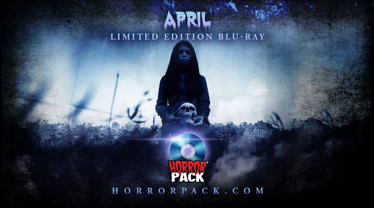 HorrorPack April 2020 Horror Movie Subscription Box