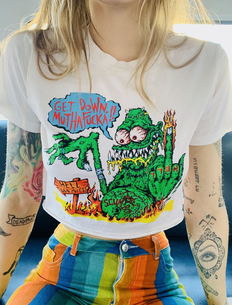 Get Down Mutha Fucka! T-Shirt from Rob Zombie & Local Boogeyman