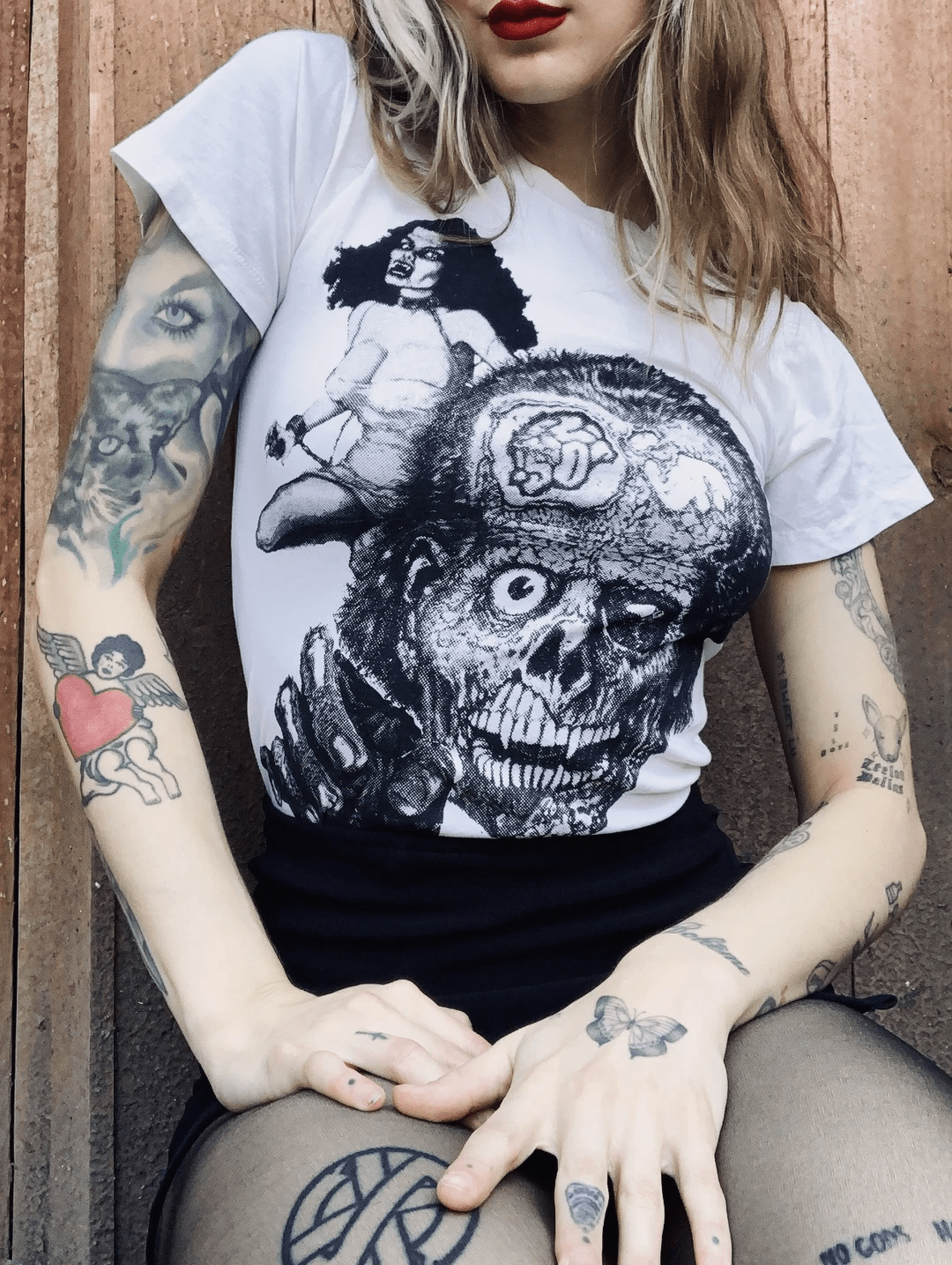 Can You Survive This Orgy of the Living Dead? A Triple Avalanche of Grisly Horror T-Shirts from Local Boogeyman!