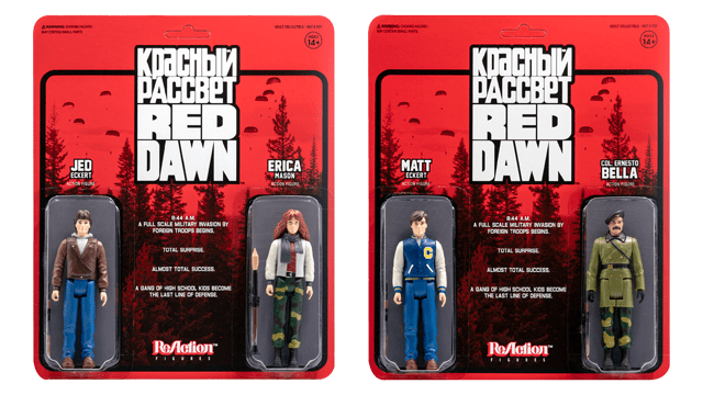Super7 RED DAWN ReAction Figures