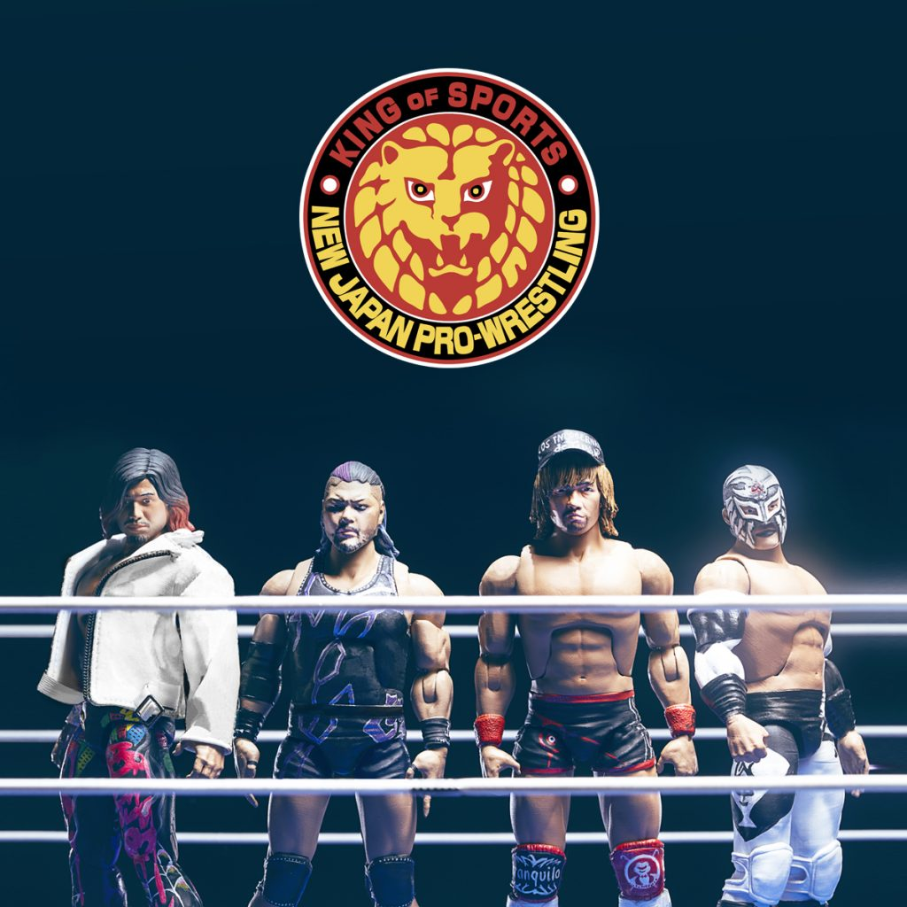Super7 x NEW JAPAN PRO-WRESTLING Ultimate Figures Available to Pre-Order 🦁 Tetsuya Naito, LIJ, Bushi, Evil & Hiromu Takahashi
