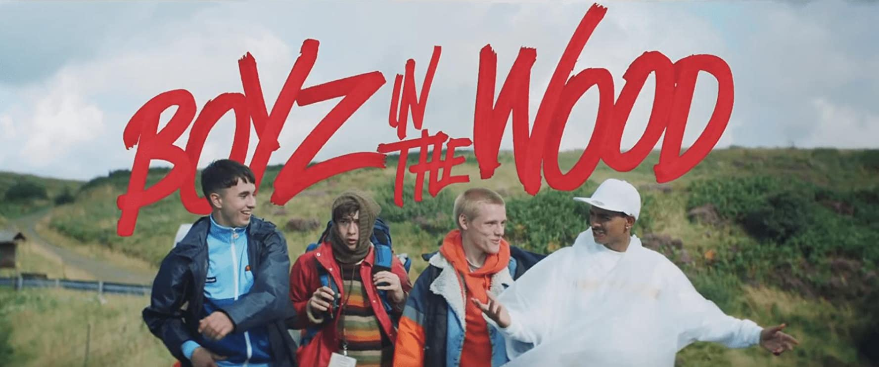 Anarchic Comedy BOYZ IN THE WOOD Launches (7 August) Worldwide on Amazon Prime Video