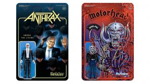 Super7 ANTHRAX & MOTÖRHEAD ReAction Figures Now Available