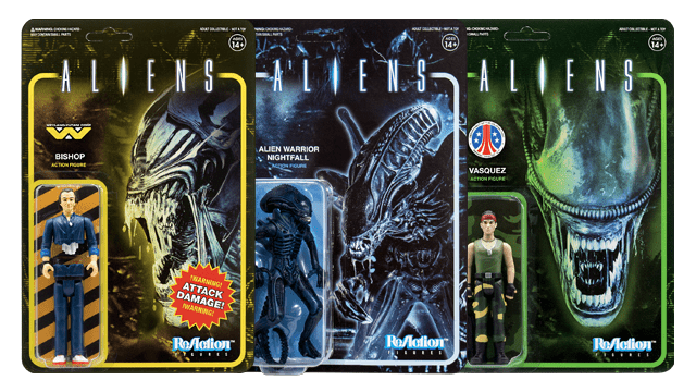 Super7 x ALIENS ReAction Figures