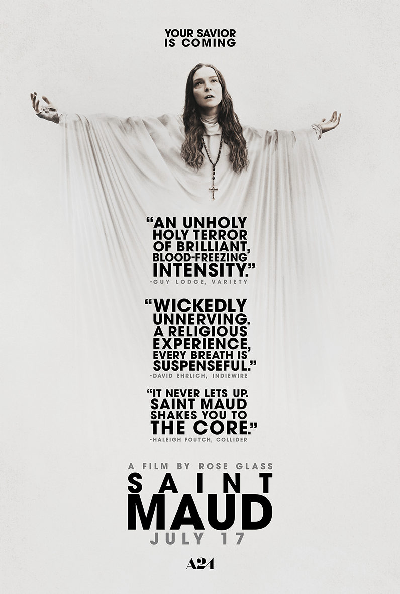 ✝ Rejoice! SAINT MAUD Ascends to Theaters Nationwide (US / 17 July) ✝
