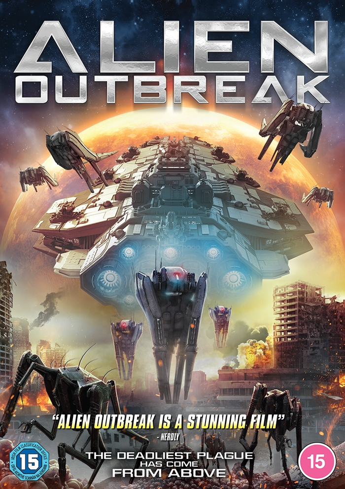Dazzler Media Presents Tense Sci-Fi Action in ALIEN OUTBREAK Available to Own on DVD & Digital Download (20 July)