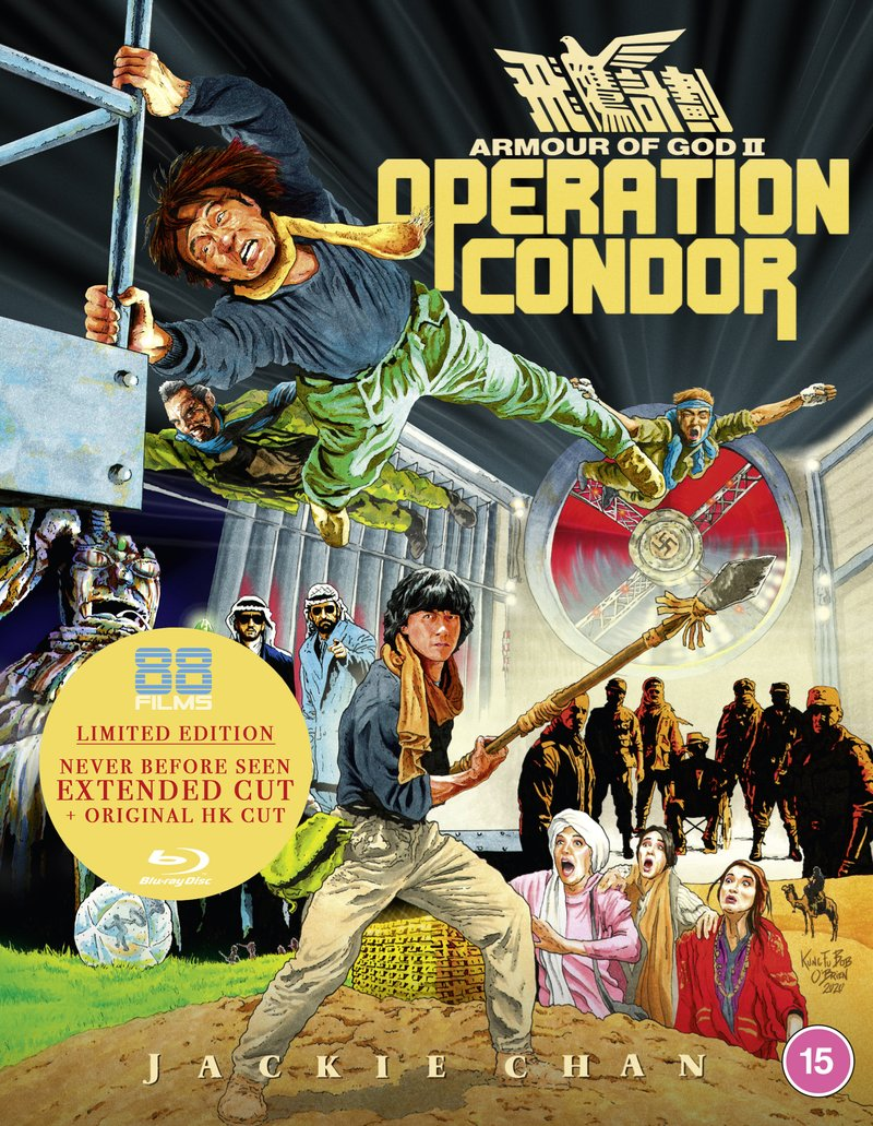 ARMOUR OF GOD II: OPERATION CONDOR, WITCHCRAFT (aka LA CASA 4) & BEYOND DARKNESS (aka LA CASA 5) Available Now on Blu-ray from 88 Films