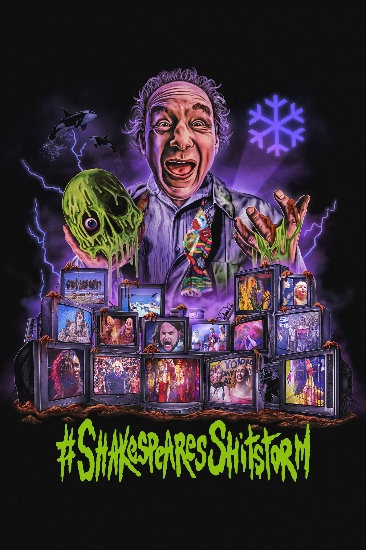 Troma Entertainment Invites You to Marché du Film Online 2020 (22-26 June) to discuss the Troma library, Including Lloyd Kaufman's Shakespeare's Shitstorm