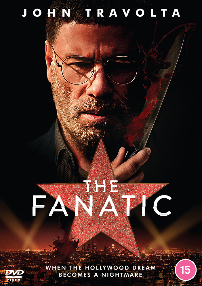 Screen Legend John Travolta as You've Never Seen Him Before in THE FANATIC ★ Available on DVD from Dazzler Media (UK / 20 July)