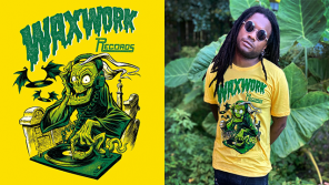 Lovers of Vintage Horror and Spooky Comics Rejoice! Waxwork x BeastWreck Tee Now Available!
