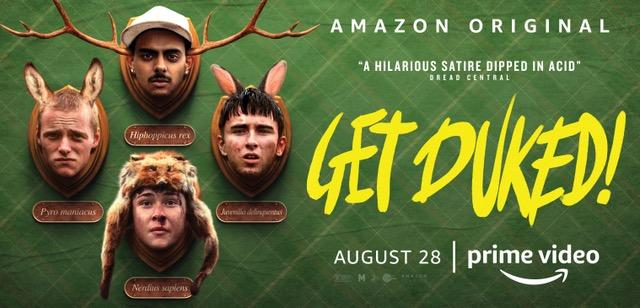 Amazon Studios' GET DUKED! Available on Amazon Prime Video (28 August)