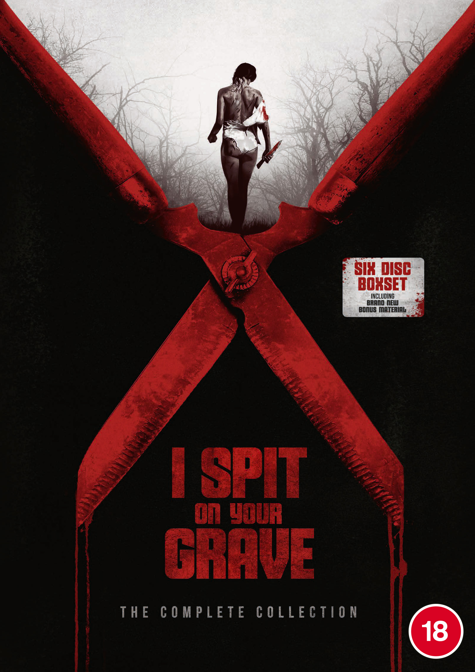 Kaleidoscope Home Entertainment Proudly Presents the Legendary I SPIT ON YOUR GRAVE: THE COMPLETE COLLECTION on Blu-ray & DVD (UK / 5 October)