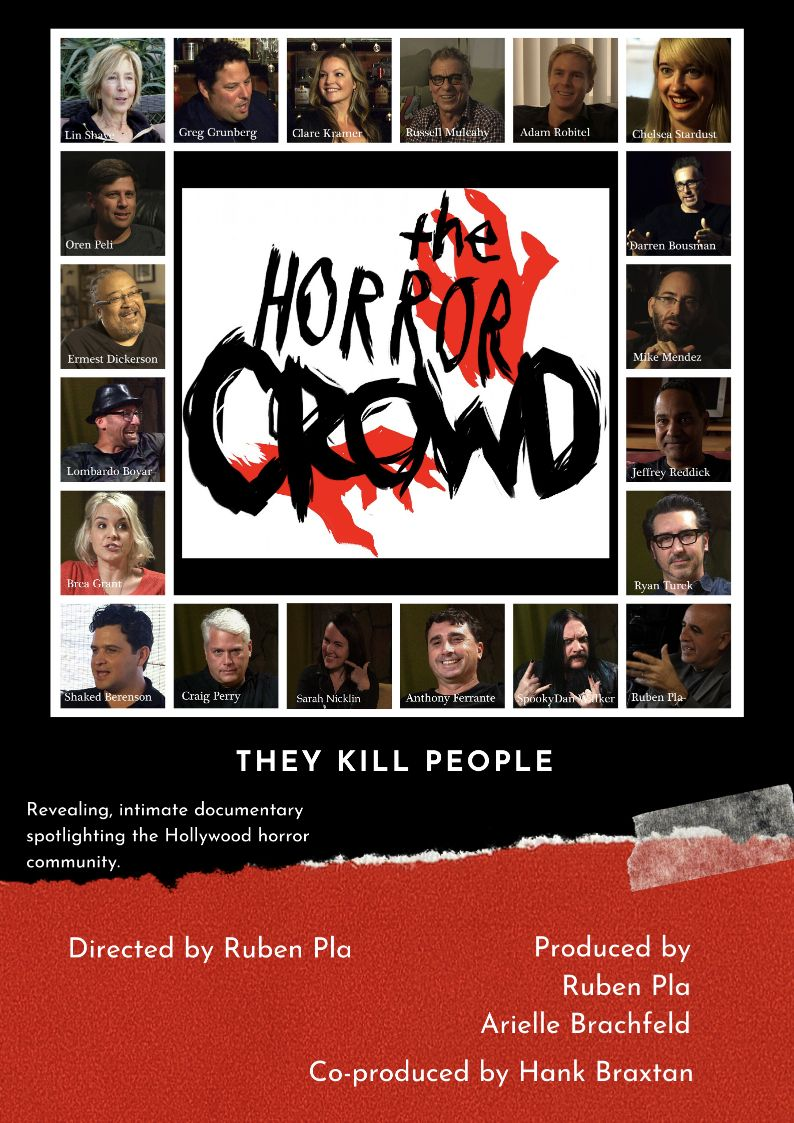 THE HORROR CROWD World Premiere at FrightFest Digital Edition 2020 (29 August)
