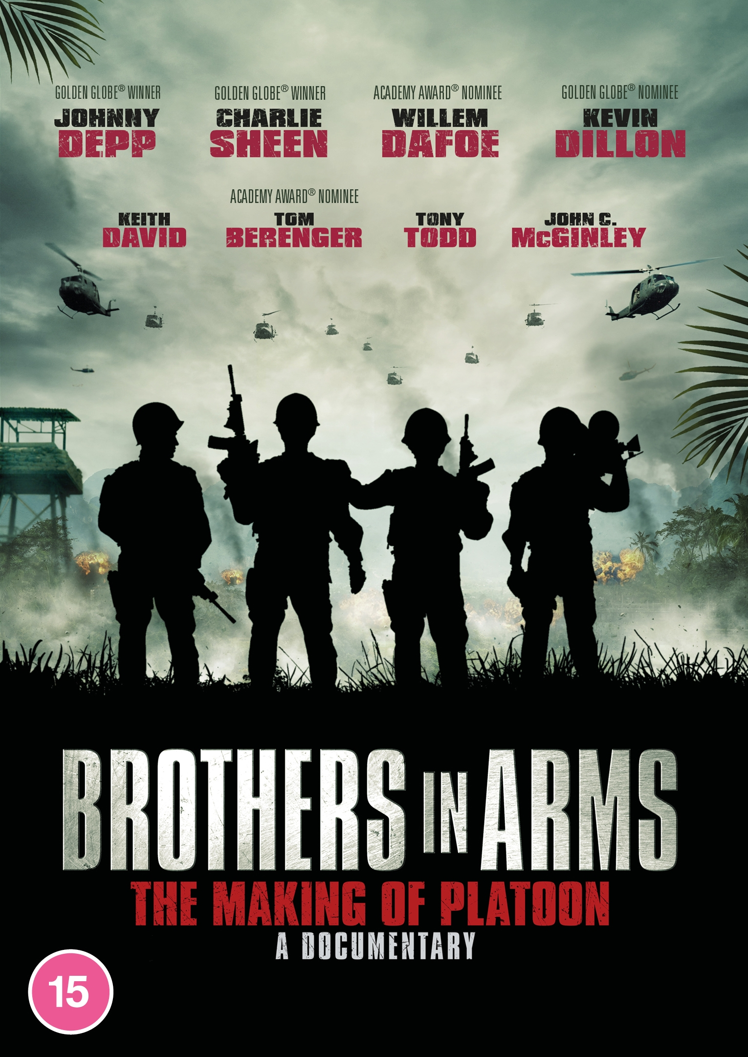 BROTHERS IN ARMS: THE MAKING OF PLATOON Documentary Comes to DVD & Digital from Kaleidoscope Home Entertainment (UK / 5 October)