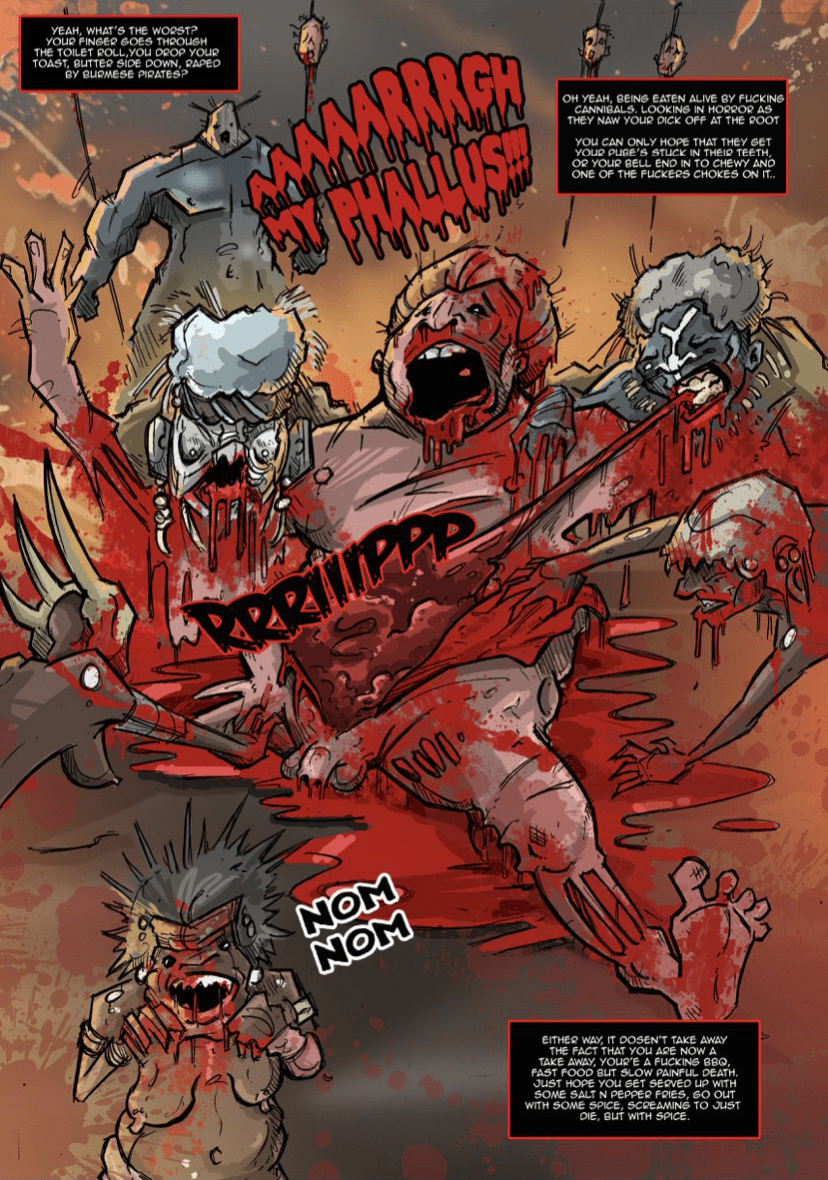 Cannibal XXX #1 (2020, UK) Review