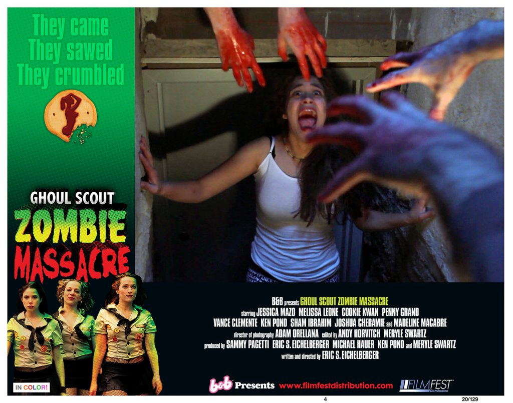 Boobs & Blood Drops OTT Horror-Comedy GHOUL SCOUT ZOMBIE MASSACRE for Halloween