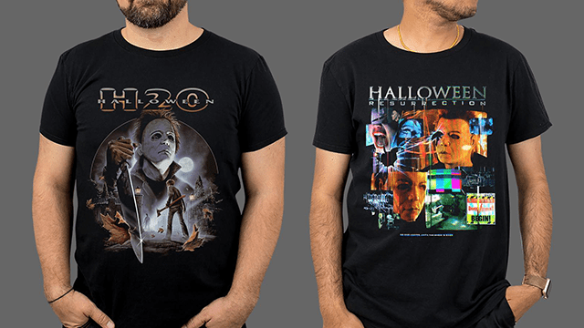 Fright-Rags' HALLOWEEN Apparel Spans 40 Years of Michael Myers