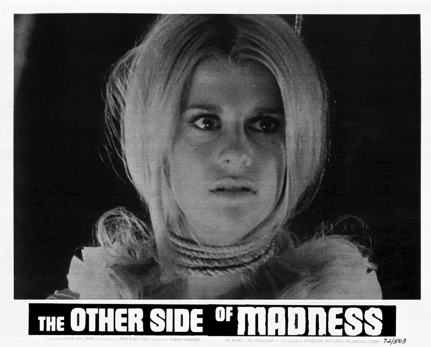 50th Anniversary Re-release of THE OTHER SIDE OF MADNESS from The Film Detective Available on Blu-ray & DVD (USA / 10 November)