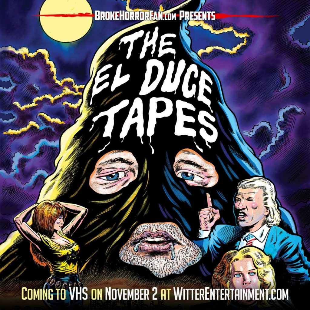 THE EL DUCE TAPES Sleezes onto Limited Edition VHS! 📼 Courtesy of Broke Horror Fan & Witter Entertainment