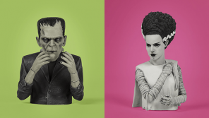 Waxwork Records Presents FRANKENSTEIN and THE BRIDE OF FRANKENSTEIN Spinatures