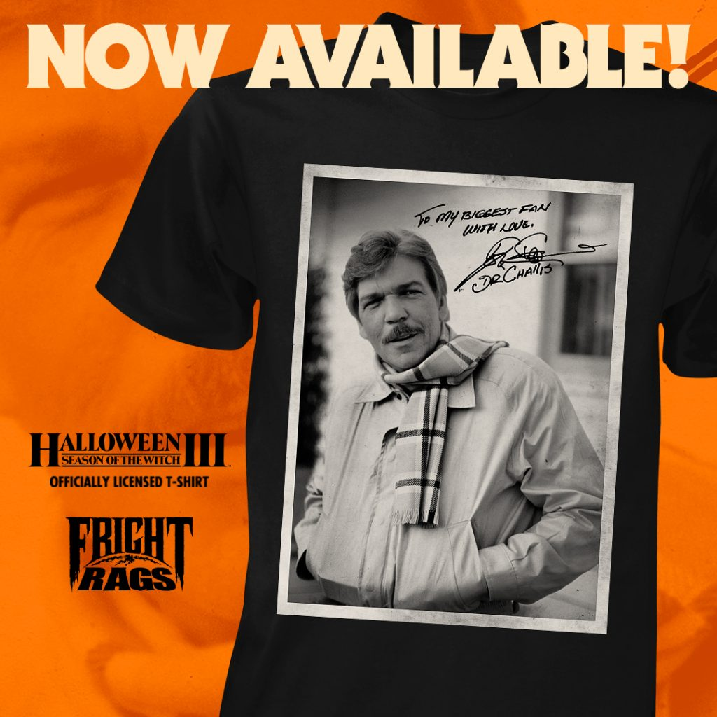 TOM ATKINS Signature Tee, KRAMPUS Activity Book, & Christmas Horror T-Shirts from Fright-Rags