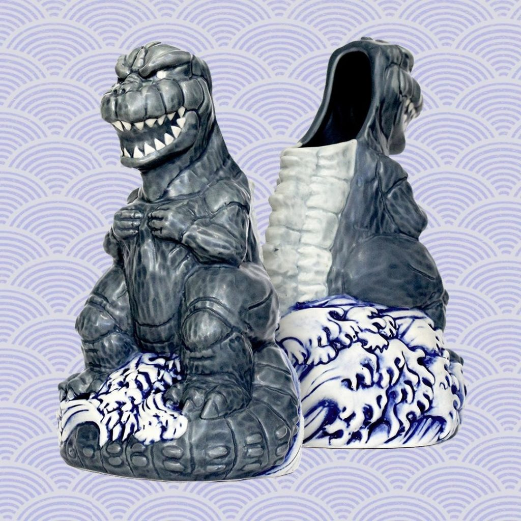 GODZILLA '74 Tiki Mug: Mondo's Monumental Masterwork of Dinosaur Drinkware