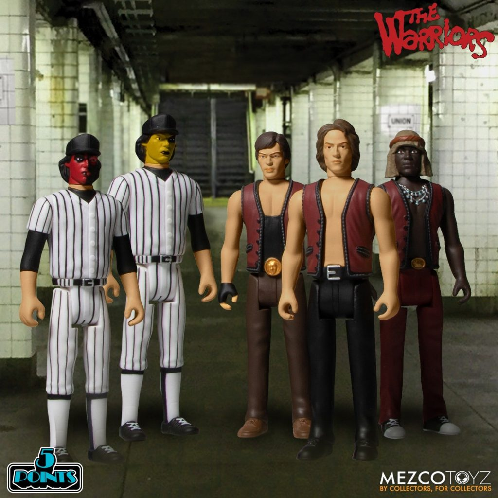 Mezco Toys & 5 Points Presents THE WARRIORS