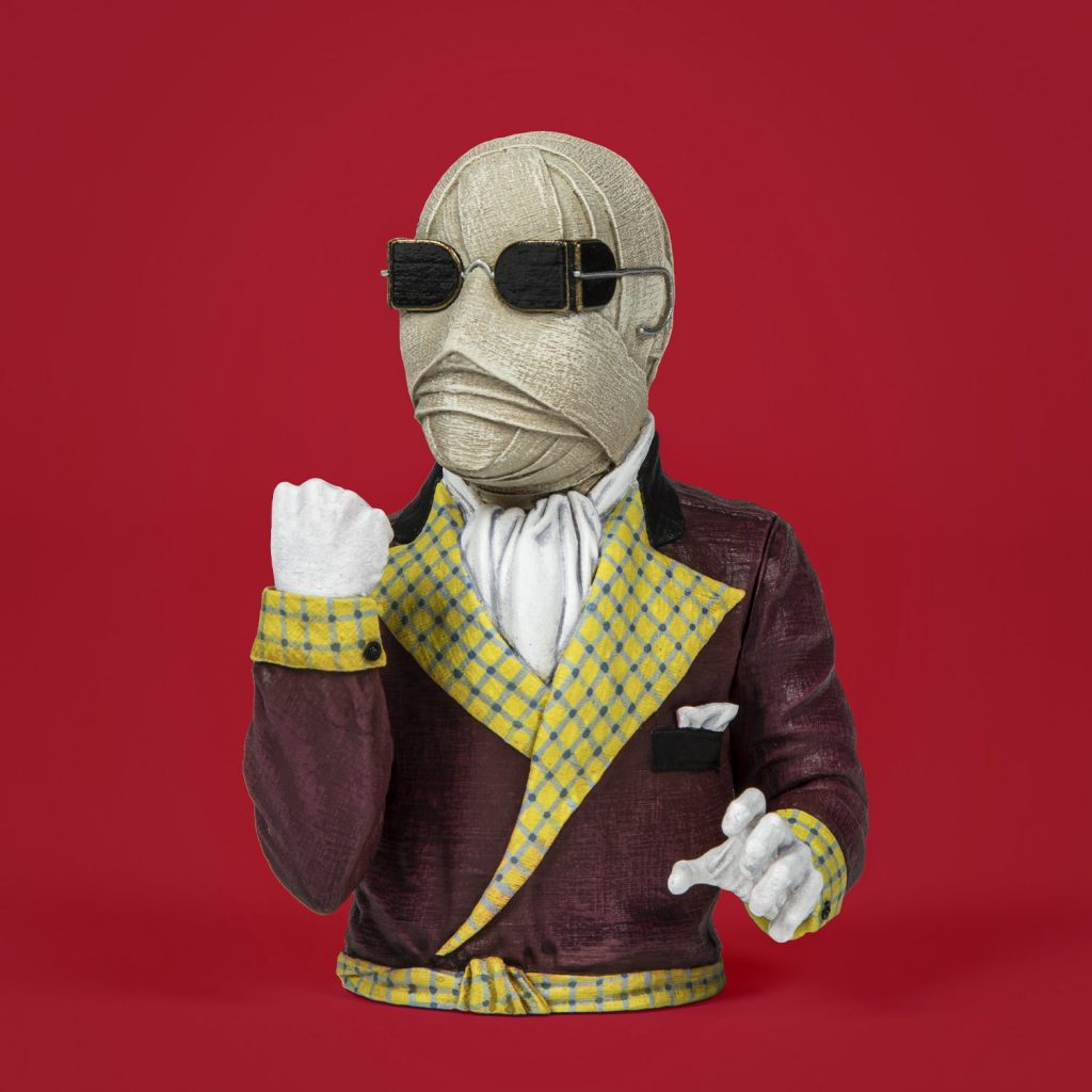 Waxwork Records Presents CREATURE FROM THE BLACK LAGOON and THE INVISIBLE MAN Spinatures