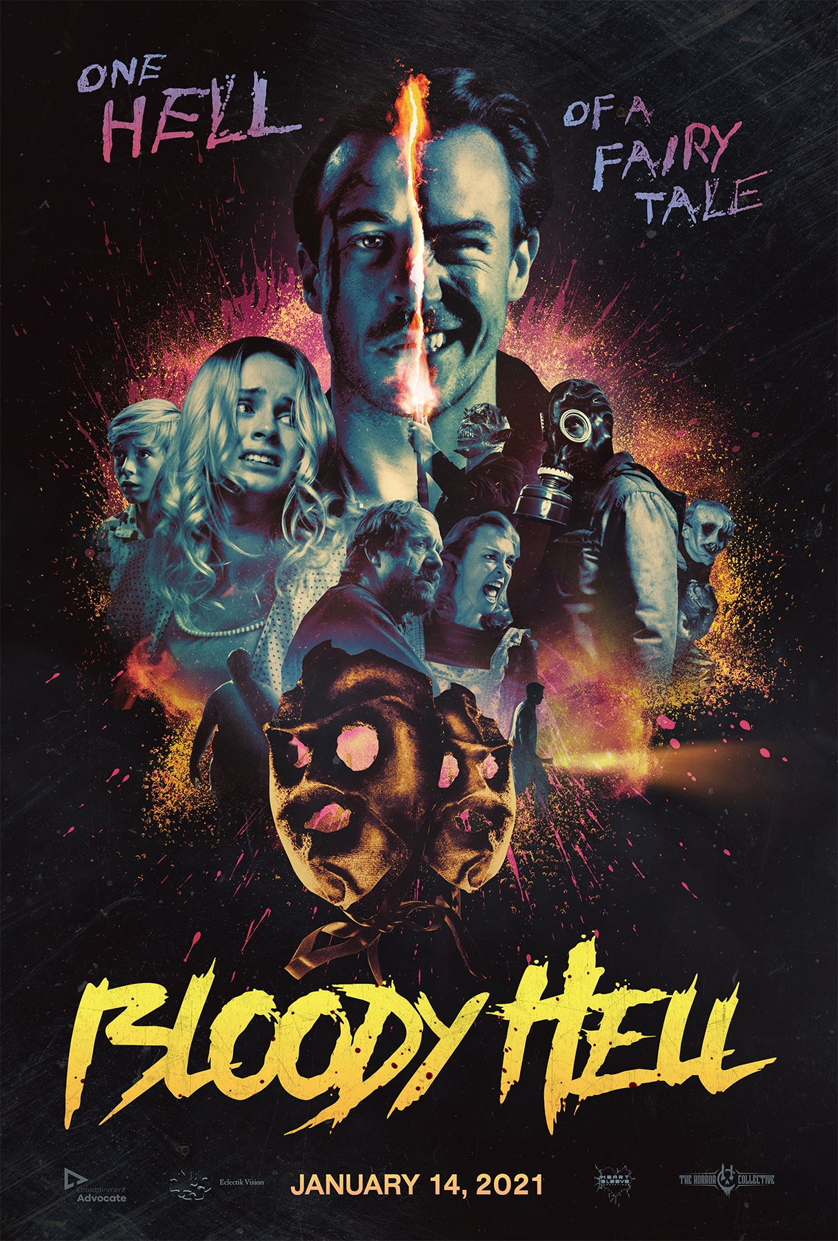 BLOODY HELL Escapes into Select Theaters, Drive-Ins, On Demand (US / 14 January) & Blu-ray/DVD (US / 19 January)