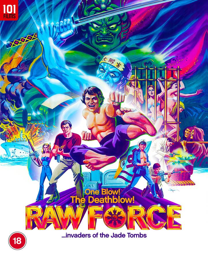 RAW FORCE Invades Blu-ray from 101 Films (UK / 8 February)
