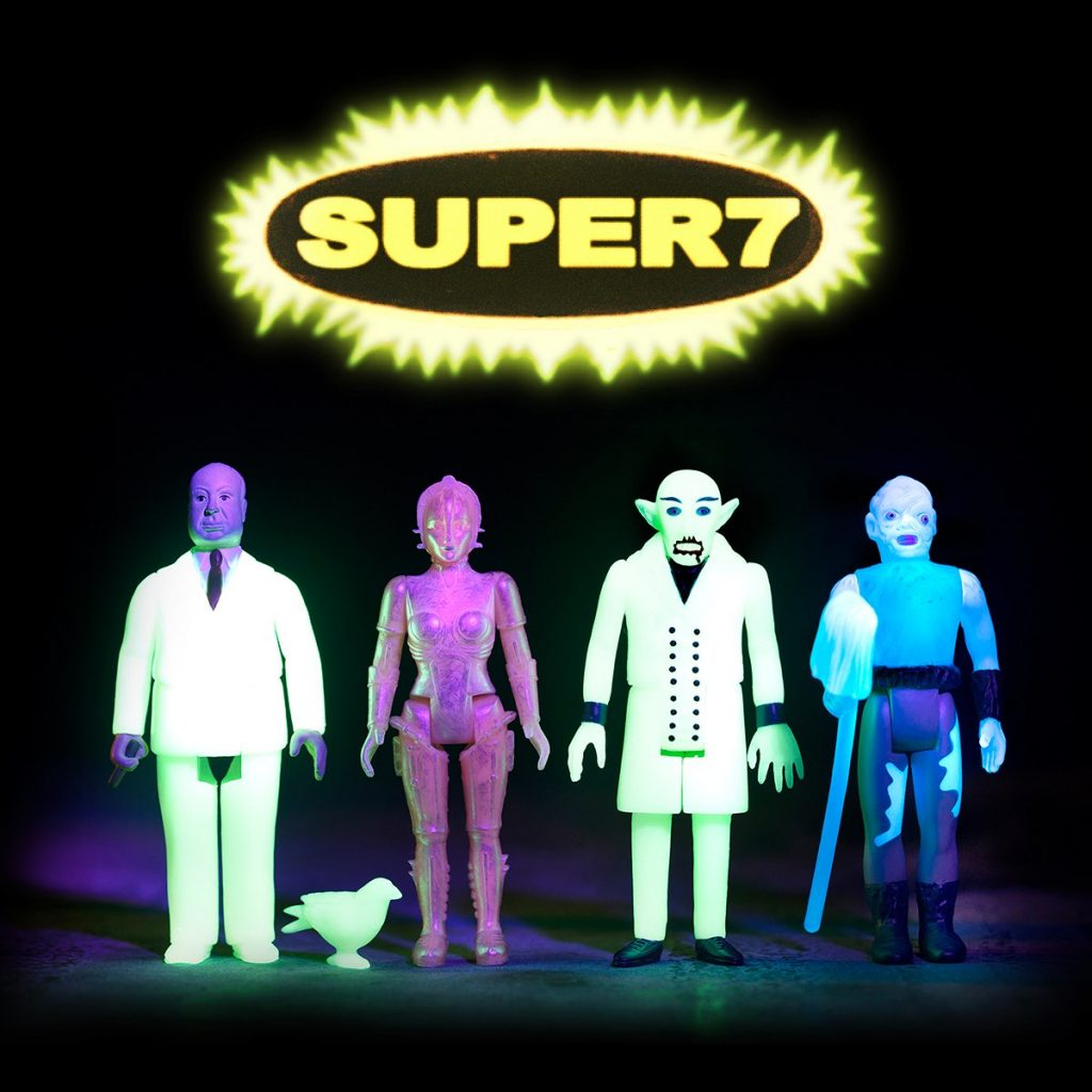 Super7 Glow-in-the-Dark Classic Hollywood ReAction Figures Now Available