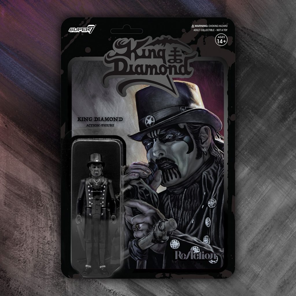 Super7 KING DIAMOND ReAction Figures Now Available