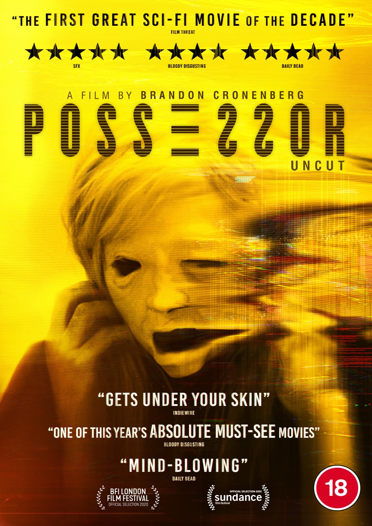 Signature Entertainment Presents Brandon Cronenberg's POSSESSOR on Digital HD (UK / 1 February) & Blu-ray/DVD (UK / 8 February)