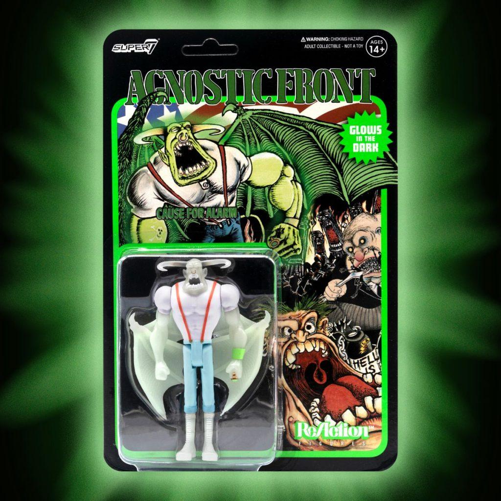 Super7 x Punk Rock RANCID & AGNOSTIC FRONT ReActiosn Figure Now Available