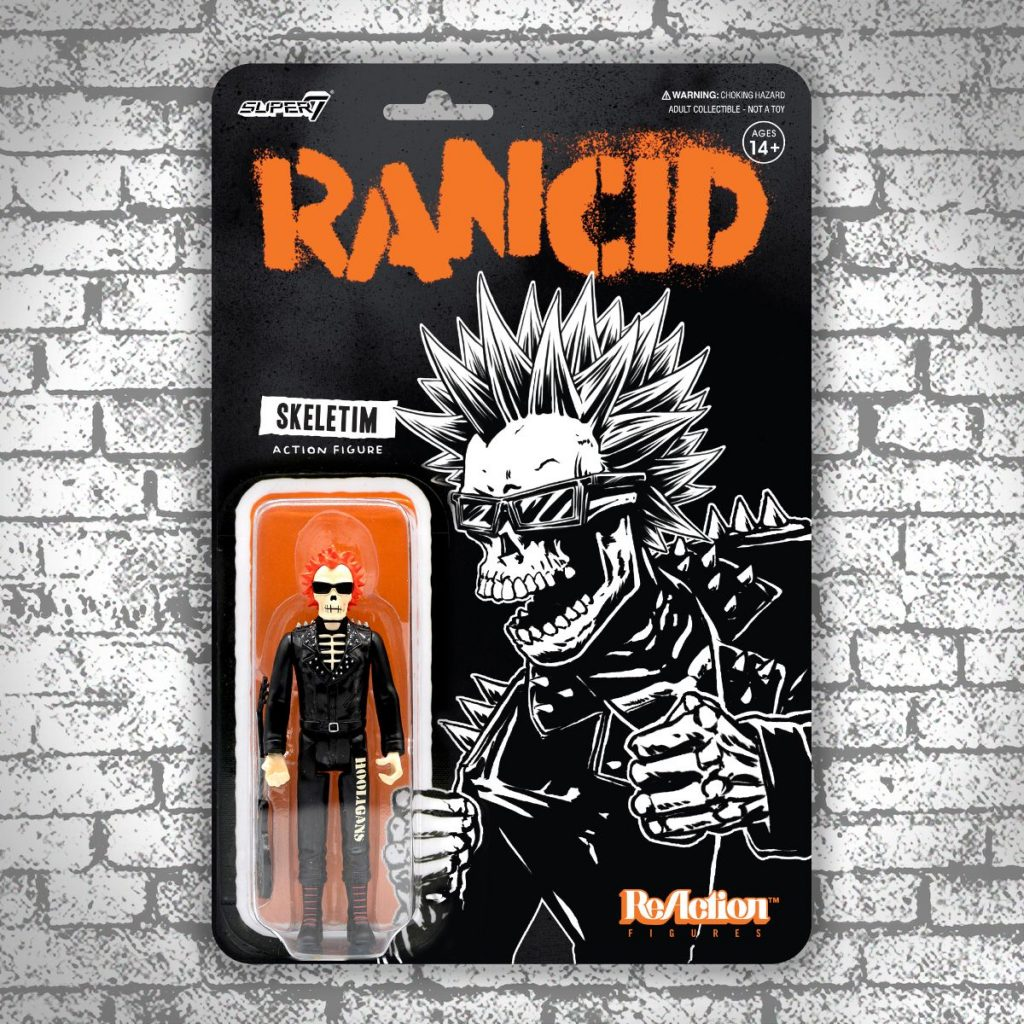 Super7 x Punk Rock RANCID & AGNOSTIC FRONT ReAction Figures Now Available