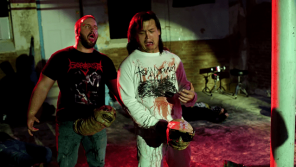 "Century Media Records & Troma Entertainment Present SANGUISUGABOGG's ""Menstrual Envy"" Music Video"