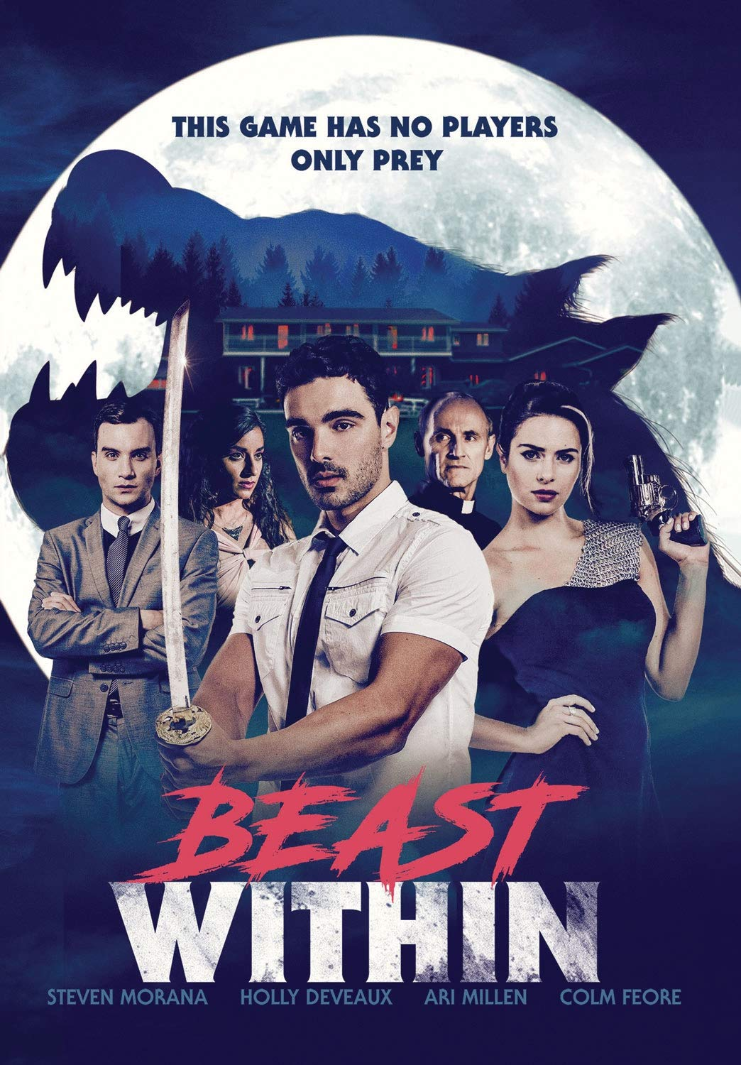 Werewolf Thriller BEAST WITHIN Takes a Bite Out of DVD (US / 23 February) from Stonecutter Media
