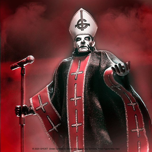 Super7 GHOST Ultimates! Papa Emeritus I Figure Available to Pre-Order