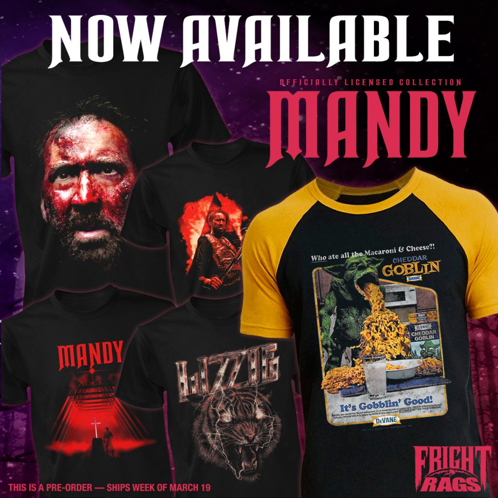 THE THING, MANDY & HALLOWEEN III: SEASON OF THE WITCH Merchandise Now Available from Fright-Rags