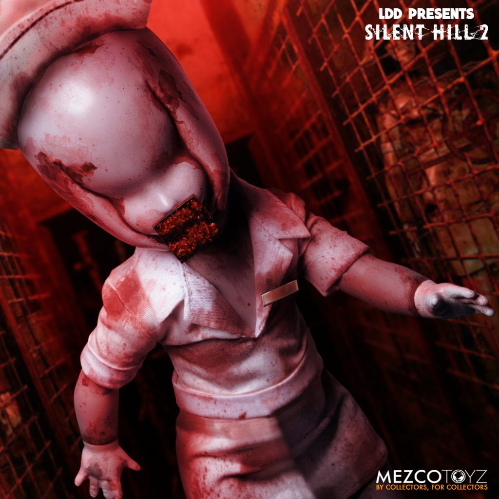 Mezco Toyz & Living Dead Dolls Presents SILENT HILL 2 Bubble Head Nurse