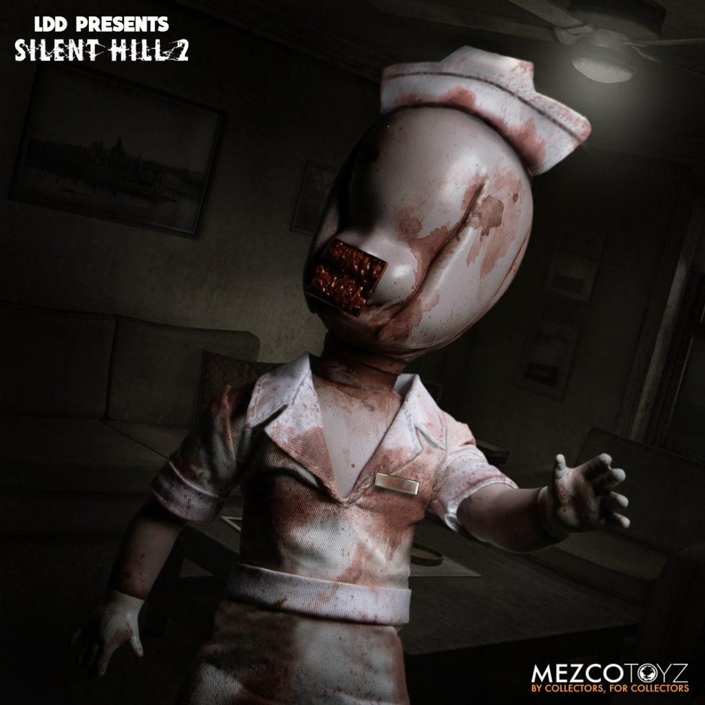 Mezco Toyz & Living Dead Dolls Presents SILENT HILL 2 Bubble Head Nurse