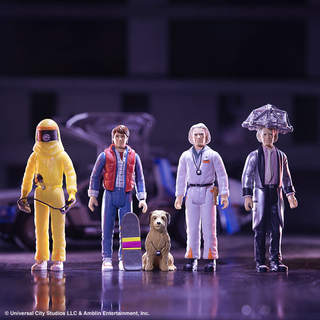 Super7 BACK TO THE FUTURE ReAction Figures Now Available