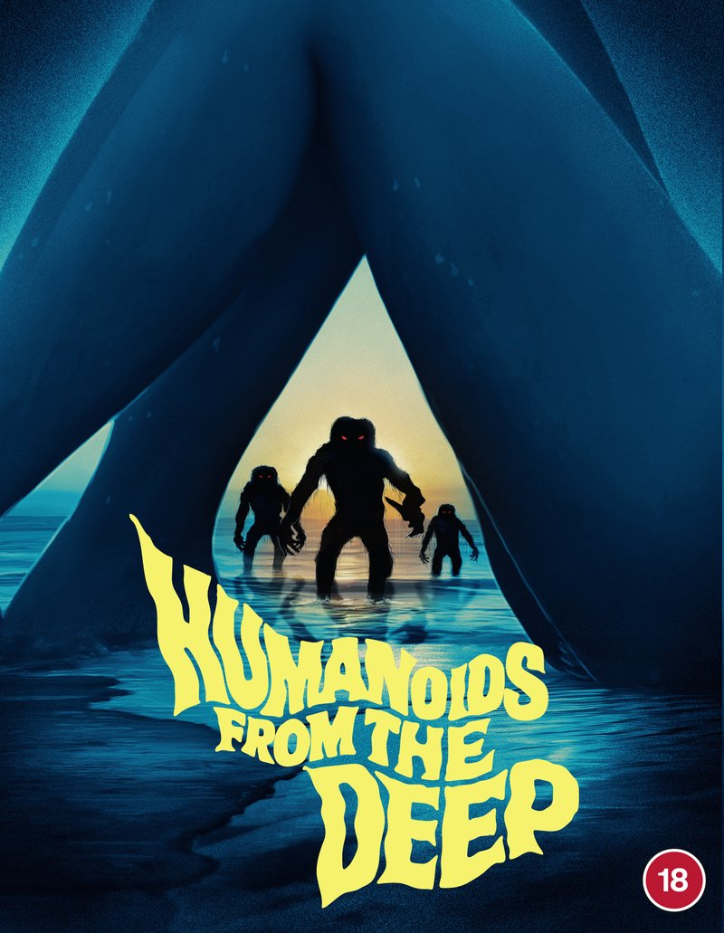 HUMANOIDS FROM THE DEEP Available on Blu-ray from 88 Films (UK / 29 March)