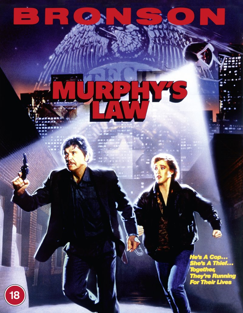 MURPHY'S LAW Available on Blu-ray from 88 Films (UK / 8 March)
