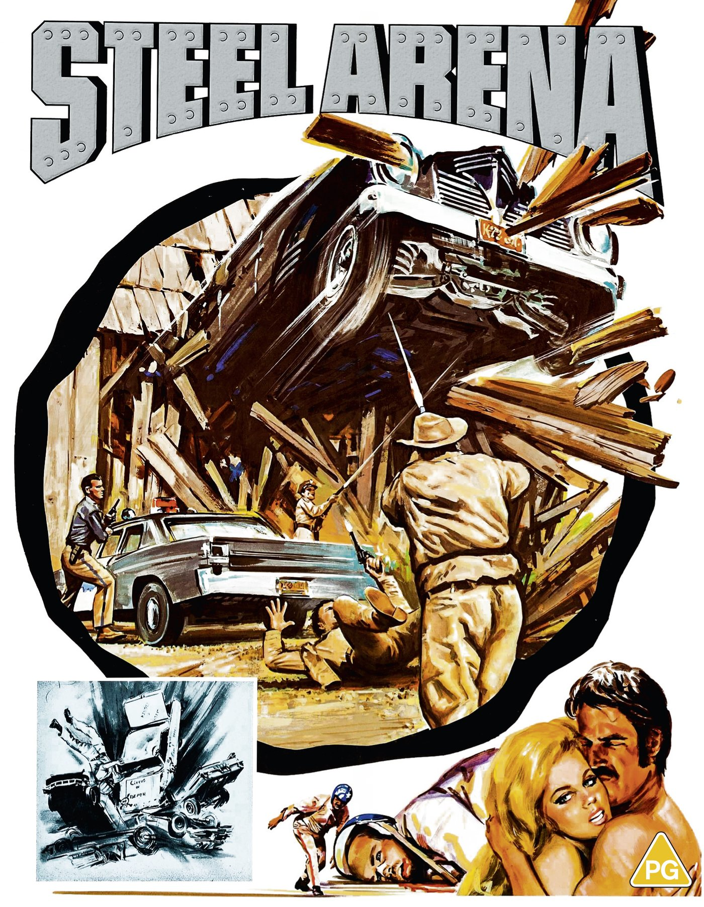 Mark L. Lester's TRUCK STOP WOMEN & STEEL ARENA Available on Blu-ray from 88 Films (UK / 5 April)