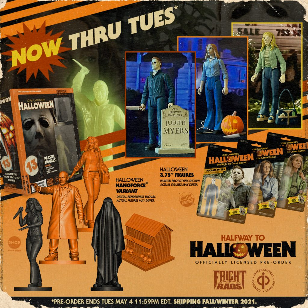 HALLOWEEN & HANNIBAL Merchandise Now Available from Fright-Rags