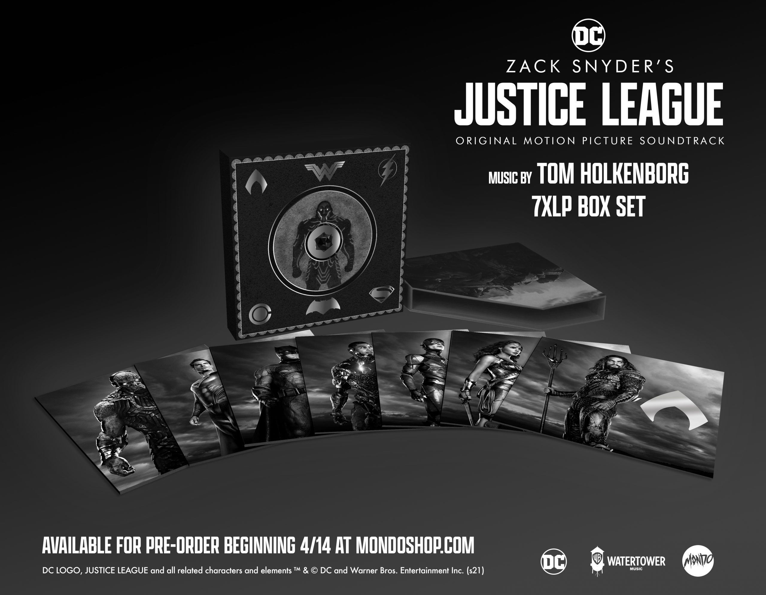 Mondo Releases a Super-Sized Soundtrack Box Set for ZACK SNYDER'S JUSTICE LEAGUE (USA / 14 April)