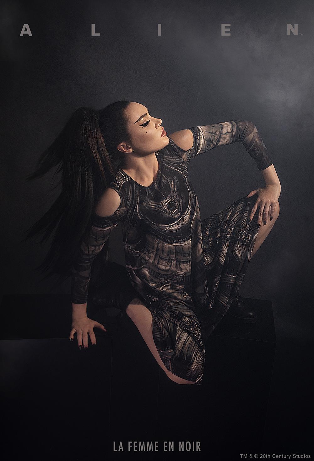La Femme en Noir Launches Licensed ALIEN Collection