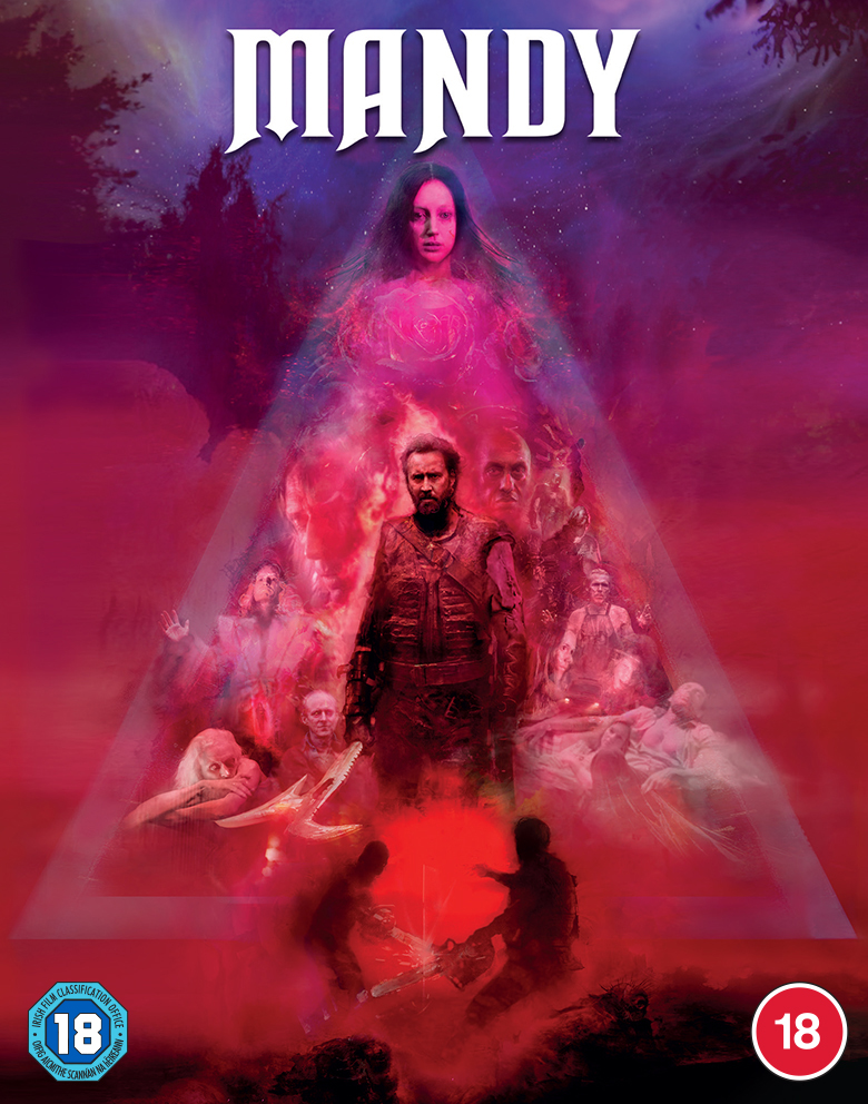 Cult Masterpiece MANDY Starring Nicolas Cage Coming to Limited Edition Blu-ray from Dazzler Media (UK / 24 May)